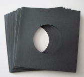 "7"" Paper Sleeve 10 pack - Black"
